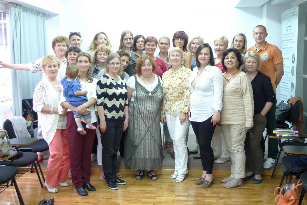 Seminario de Olga Soboleva -nuestra metodista de Rusia