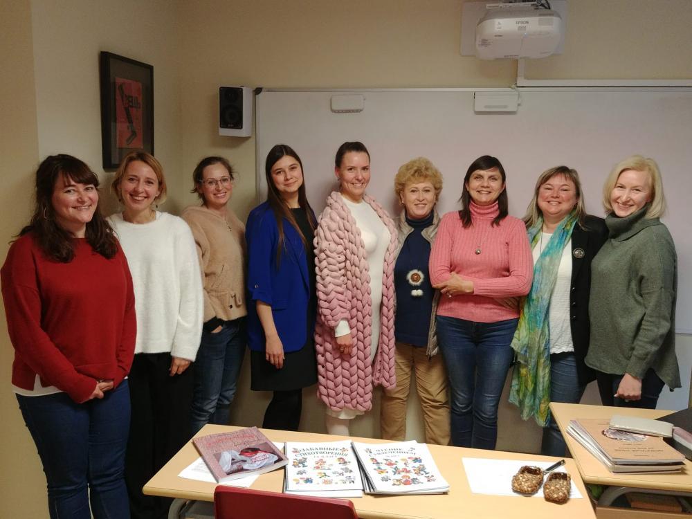 Seminario de cultura y historia rusa